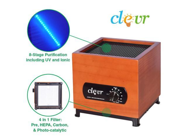 8-Stage Ionic Ozone Generator Air Purifier, Dust Smoke Remover Filter UV  Plasma - Newegg com