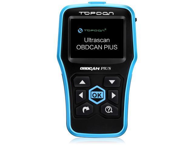 Topdon Ultrascan OBDCAN PLUS OBD2 Scan Tool Professional Car Diagnostic  Scanner Universal OBDII Code Reader Car Fault Code Reader OBD2 Full  Function