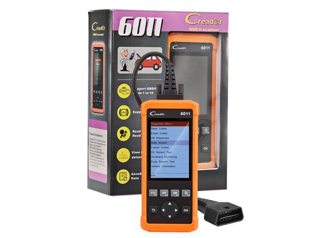 Launch CReader 6011 Code Reader OBDII/EOBD Diagnostic Scanner CR 6011 with  ABS and SRS System Diagnostic Functions CR-6011 - Newegg ca