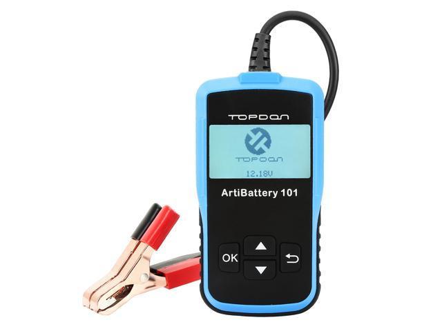Car Battery Tester Topdon Artibattery 101 12v 100 2000 Cca Automotive Yzer Cranking