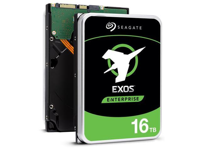 "Seagate Exos 16TB Enterprise HDD X16 SATA 6Gb/s 512e/4Kn 7200 RPM 256MB Cache 3.5"" Internal Hard Drive ST16000NM001G"