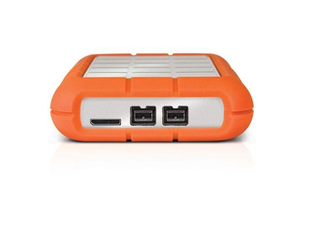 Lacie 2tb Rugged Triple Portable External Hard Drive Usb 3 0 2 X Firewire800 Model Lac9000448