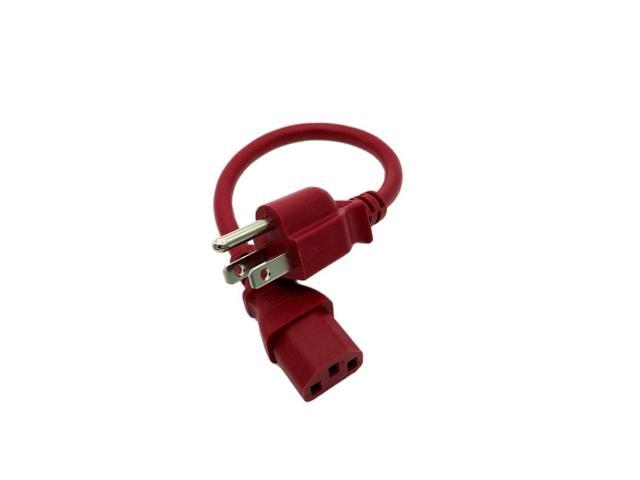 Kentek 1 FT Red AC Power Cable Cord For DYNEX TV DX-LCD26-09 DX-24L150A11  DX-32L150A11 DX-37L150A11 - Newegg com