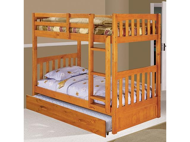 Discovery World Furniture Honey Bunk Bed Twin Twin Mission With Twin