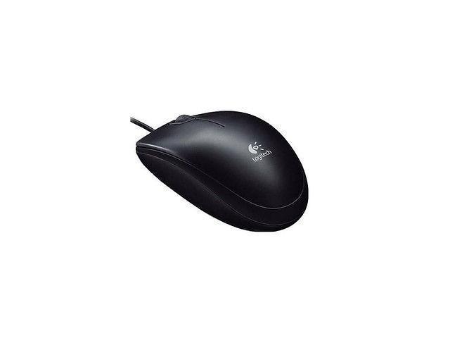 3c3898a54ec Logitech B100 Optical USB Mouse, 800 DPI, P/N: 910-001439 ...