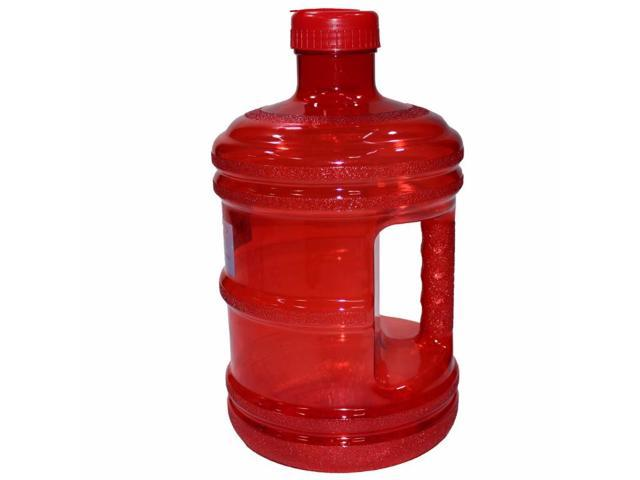 aec3f9de70d4 EliteMailers BPA Free New Plastic Reusable H2O Water Bottle 1 Gallon  Drinking Container 128oz, Jug, Juice, Canteen - Newegg.com