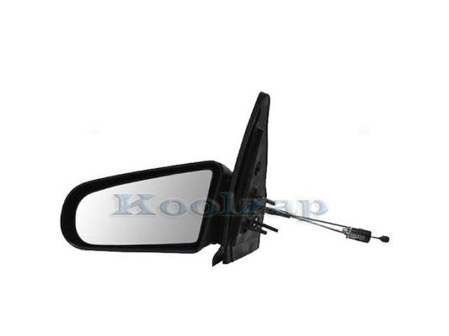 91-95 Saturn S Series 4-Door Manual Remote Rear View Mirror Left Driver Side NEW