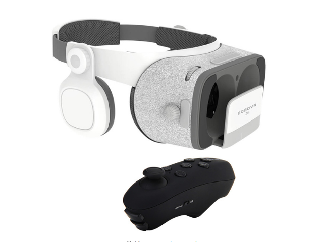 BOBOVR Z5 3D VR Headset without Daydream Gamepad FOV120 IPD Focus  Adjustable with a free Virtoba V1 Portable Wireless Bluetooth Controller -  Newegg ca