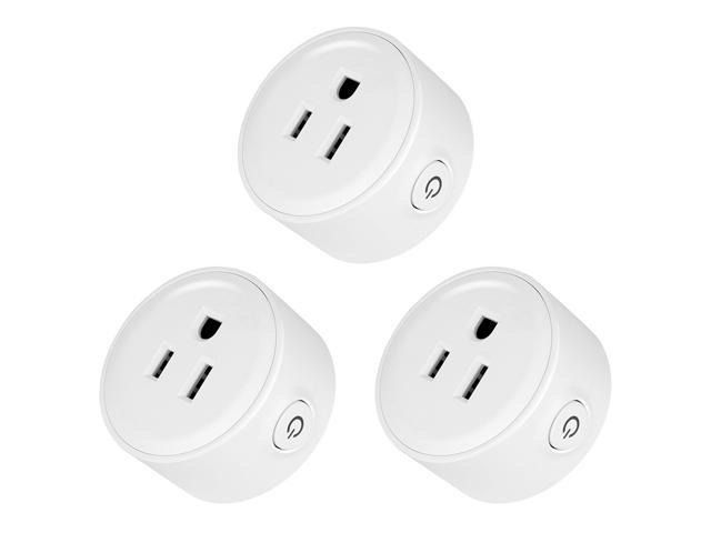 Geekbes YM-WS-1 WiFi Smart Socket Plug-in Module with Amazon Alexa & Google  Home Compatibility, 10A - 3 Pack - Newegg com