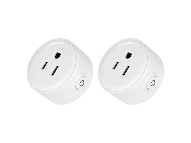 2-Pack Geekbes YM-WS-1 Smart Socket WiFi Mini Plug APP Remote Control  Timing Socket Works with Alexa -White/US Plug - Newegg com