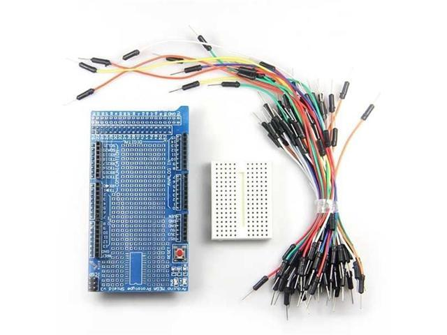 Prototype Shield Protoshield Breadboard Jumper Wire for Arduino Due ...