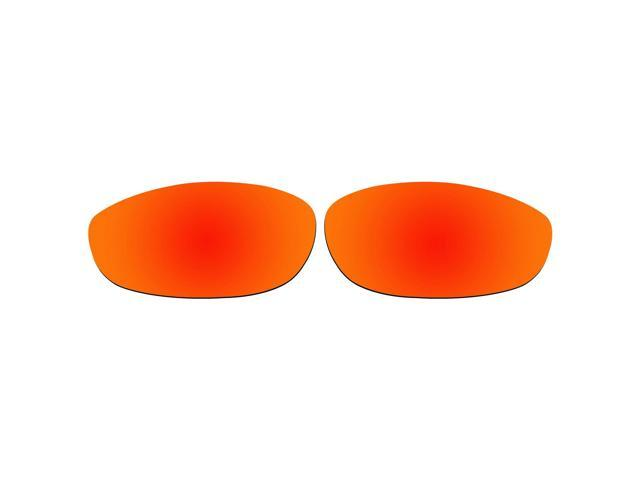 a1453981a4 ACOMPATIBLE Replacement Lenses for Oakley Monster Dog Sunglasses (Fire Red  Mirror - Polarized)