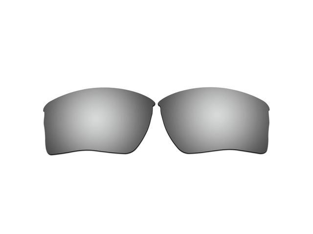 0bd137f7a0a ACOMPATIBLE Replacement Lenses for Oakley Quarter Jacket Sunglasses OO9200  (Titanium Mirror - Polarized)