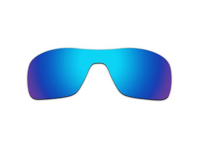 a5266813a5 ACOMPATIBLE Replacement Lenses for Oakley Turbine Rotor Sunglasses OO9307 (Blue  Purple Mirror - Polarized)
