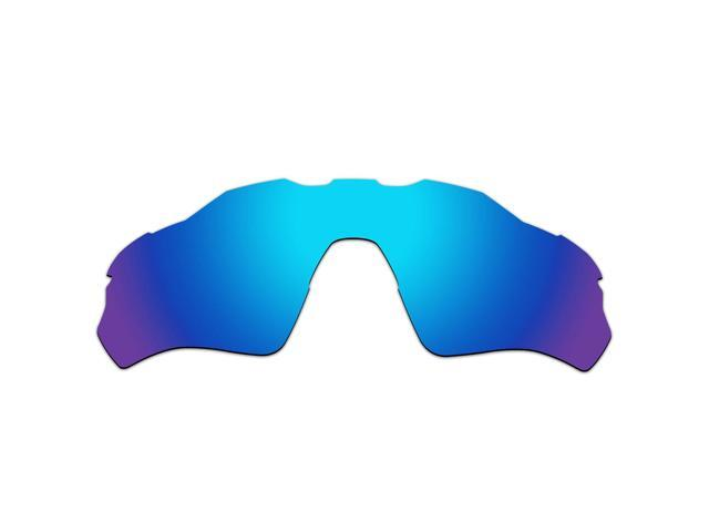 daba539507 ACOMPATIBLE Replacement Vented Lenses for Oakley Radar EV XS Path (Youth  Fit) Sunglasses OJ9001 (Blue Purple Mirror - Polarized)