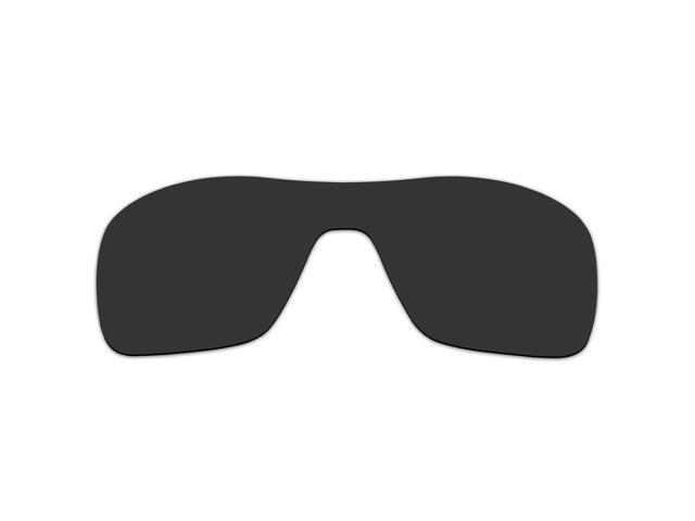 d5942e4bb2 ACOMPATIBLE Replacement Lenses for Oakley Turbine Rotor Sunglasses OO9307  (Black - Polarized) - Newegg.com