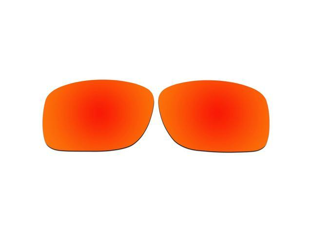 27e772fba8 ACOMPATIBLE Replacement Lenses for Oakley Turbine XS (Youth Fit) Sunglasses  OJ9003 (Fire Red Mirror - Polarized)