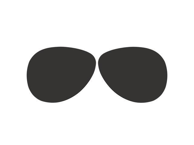 3845983c83 ACOMPATIBLE Replacement Lenses for Oakley Caveat Sunglasses OO4054 (Black -  Polarized)