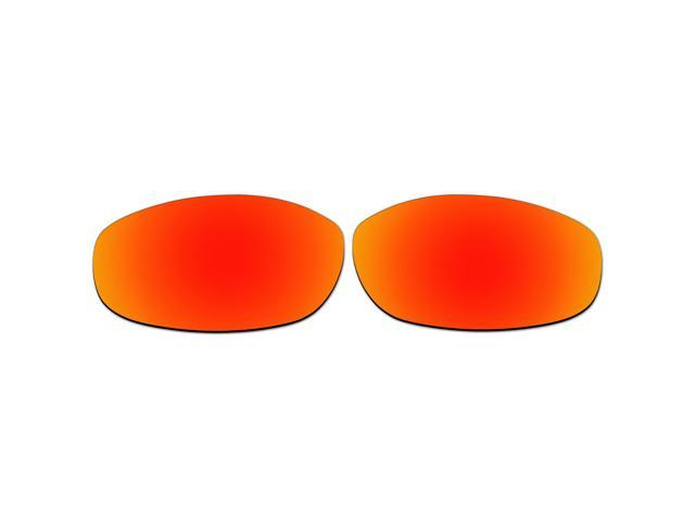 535a8c81115 ACOMPATIBLE Replacement Lenses for Oakley Tightrope Sunglasses OO4040 (Fire  Red Mirror - Polarized)