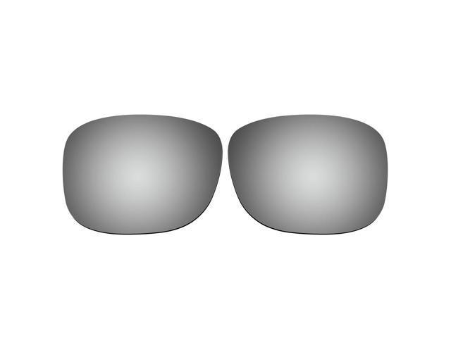 d0b13108e77ff ACOMPATIBLE Replacement Lenses for Oakley Discreet Sunglasses OO2012  (Titanium Mirror - Polarized)