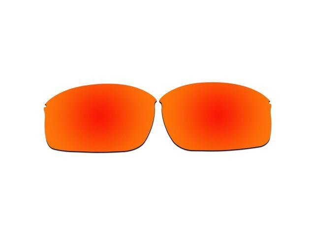 9391583ab3 ACOMPATIBLE Replacement Lenses for Oakley Wiretap New Sunglasses OO4071  (Fire Red Mirror - Polarized)