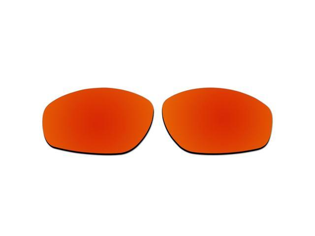 dc67a319a7c ACOMPATIBLE Replacement Lenses for Oakley Encounter Sunglasses OO9091 (Fire  Red Mirror - Polarized)