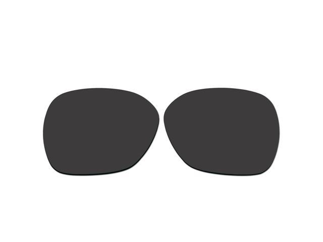 3062d07691 ACOMPATIBLE Replacement Lenses for Oakley Overtime Sunglasses OO9167 (Black  - Polarized)