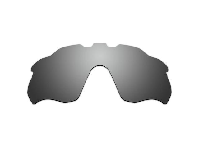 48f4e7b5bb ACOMPATIBLE Replacement Vented Lenses for Oakley Radar Pace Sunglasses  OO9333 (Titanium Mirror - Polarized)