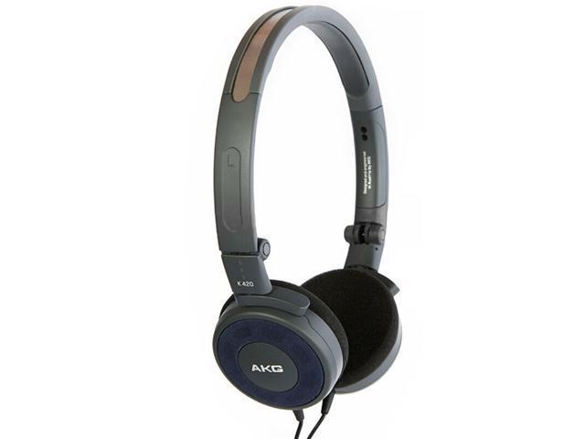 AKG K420 Headset Folding Portable Headphone Heavy Bass Mobile Phone Headset  Foldable Mini Headphone