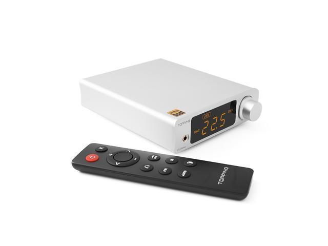 TOPPING DX3 Pro AK4493 OPA1612 Hifi USB Bluetooth DSD512 DAC Headphone  Amplifier(Silver) - Newegg com