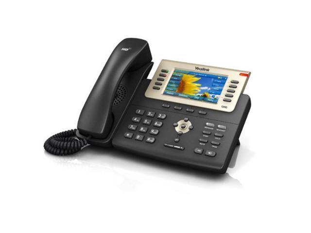Yealink - SIP-T29G - Enterprise 16 Line HD IP Phone Dual-port Gigabit  Ethernet PoE support, No PSU - Newegg com