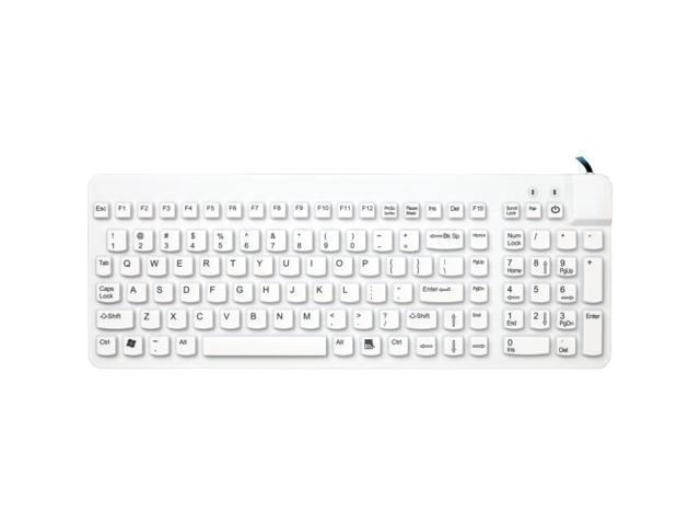 Man & Machine RCLP/W5 Really Cool Low Profile Keyboard - White