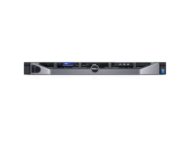 Dell PowerEdge R230 1U Rack Server - 1 x Intel Xeon E3-1220 v5 Quad-core (4  Core) 3 GHz - Newegg com