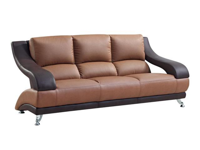 Global Furniture USA U982-RV-T-BR-S Two-tone Brown Bonded ...
