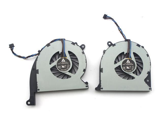 4 PIN New CPU Cooling Fan Set for HP KSB0505HB-BD46 KSB0505HB-BD47  689993-001 665908-001 - Newegg com