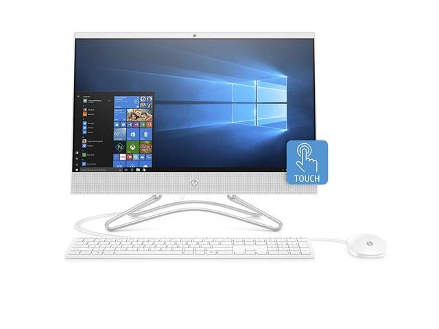 "HP All-in-One Computer 22-c0030 Intel Core i3 8th Gen 8130U (2.20 GHz) 4 GB DDR4 1 TB HDD 21.5"" Touchscreen Windows 10 Home 64-Bit"