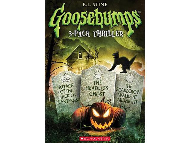 Goosebumps 3-Pack Thriller DVD - Newegg com