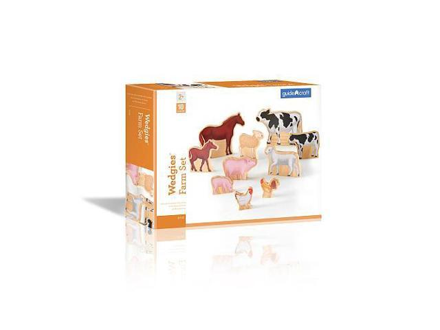 Wedgy Gaming Chair: Wedgies Wooden Farm Set