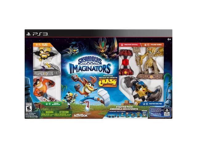 skylanders imaginators crash bandicoot starter pack playstation 3 rh newegg com Skylanders PS3 Bundle Skylanders PlayStation 2 Games