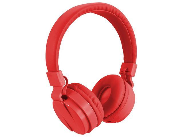 f3631f8fb62 ILIVE iAHB6R Bluetooth(R) Wireless Headphones with Microphone (Red)