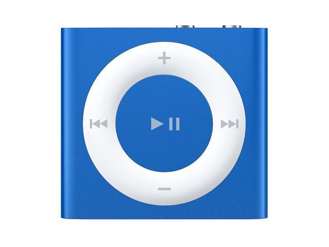 used acceptable apple ipod shuffle 2gb blue 5th generation rh newegg com iPod Shuffle 8th Generation iPod Shuffle 4th Generation