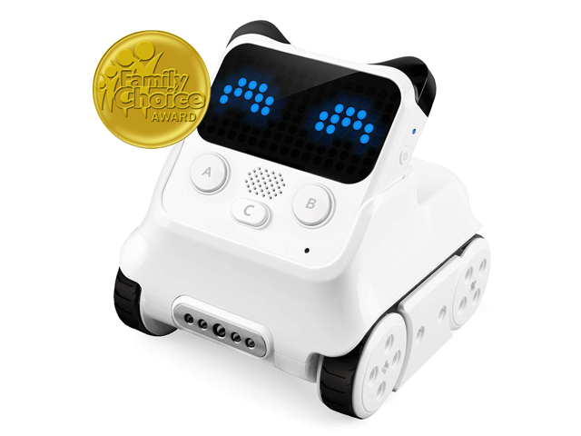 Makeblock Codey Rocky Robot, STEM Education, Entry-level Coding Toys for  6yrs+ Kid, mBlock 5 Available for Windows and MacOS , Compatible with Lego,