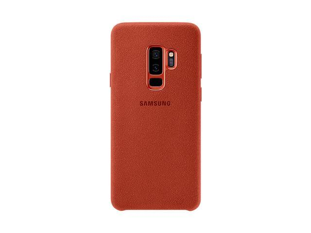 new arrival c3989 39ac6 Samsung Galaxy S9 Plus Alcantara Cover Case, 6.2 inches (RED ...