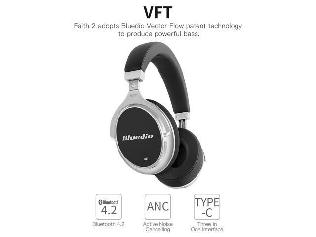 21f64715a7c 2017 Bluedio New F2 (Faith) Active Noise Cancelling Over-ear Business  Wireless Bluetooth