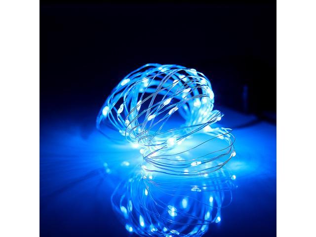 Supernight battery operated blue led rope light mini led string supernight battery operated blue led rope light mini led string light copper wire fairy lights with aloadofball Images
