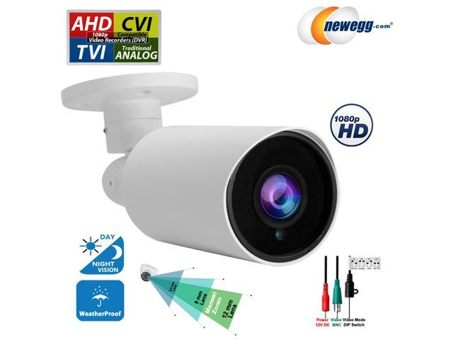 Day Night Vision Outdoor Indoor Security Camera 1080P HD CCTV TVI AHD CVI Analog