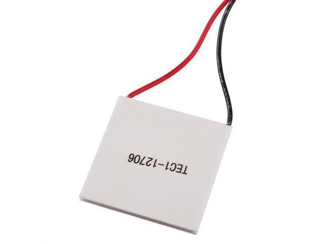 TEC1-12706 51 4W 40mm Thermoelectric Peltier Cooler Plate for CPU Car Drink  - Newegg com