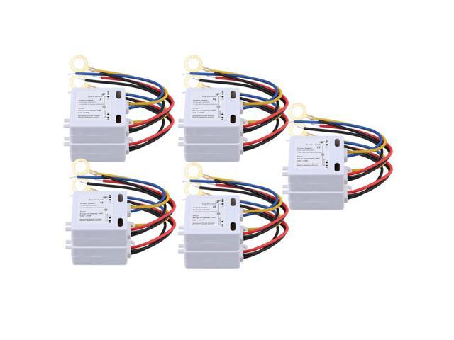 Enjoyable Bqlzr 10Pcs Xd 608 On Off Touch Switch 6 12V Dc For Led Lamp Wiring Cloud Tobiqorsaluggs Outletorg