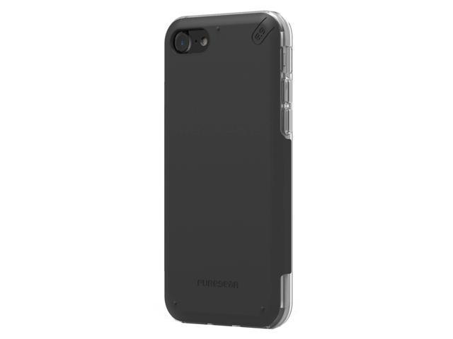 save off b3a0b 384d2 Puregear Dualtek Pro iPhone 8/7 Black/Clear (61586PG) - Newegg.com