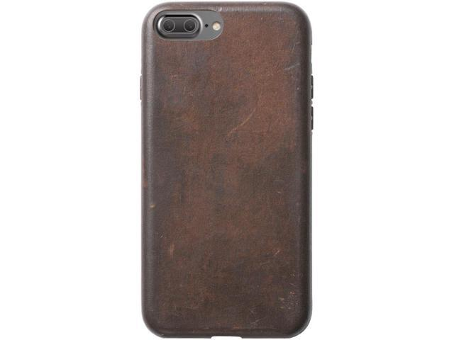 sports shoes 3b8d1 32fb0 Nomad NM21LR0F00 Horween Leather Case iPhone 8 Plus/7 Plus Brown - Newegg.ca